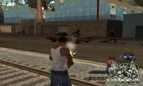 HUD by Anatole para GTA San Andreas tercera pantalla