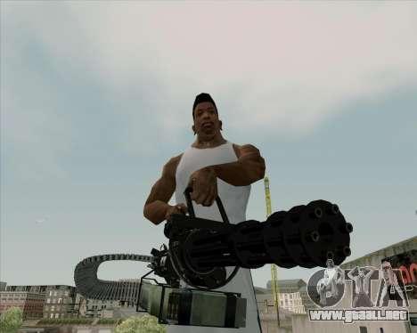 Renegades Minigun Black para GTA San Andreas