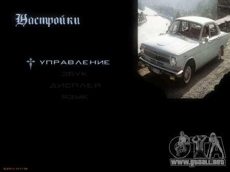 Menú de coches Soviéticos para GTA San Andreas segunda pantalla