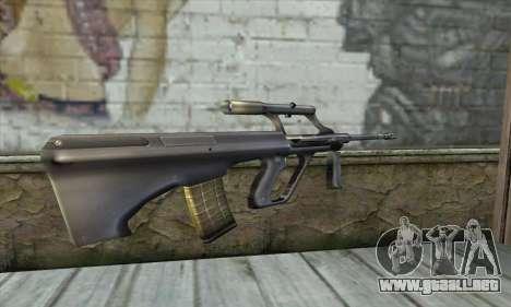AGO из Counter Strike para GTA San Andreas segunda pantalla