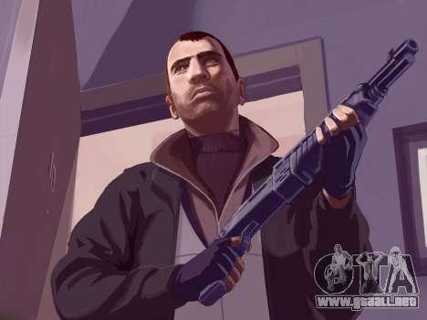 Inicio pantallas de GTA IV para GTA 4 sexto de pantalla