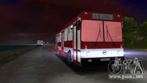 LIAZ-5256 para GTA Vice City vista posterior