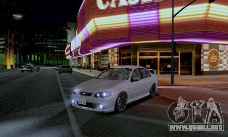 ENB CUDA 2014 for Low PC para GTA San Andreas segunda pantalla