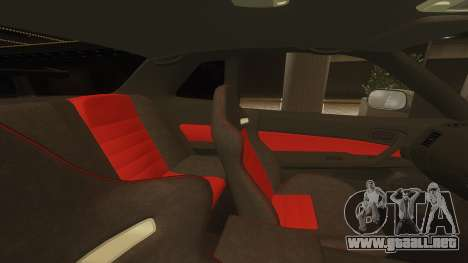 Nissan Skyline GTR-34 Nismo Z-Tune para GTA 4 vista interior