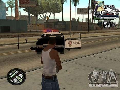 C-Hud Woozie Tawer para GTA San Andreas segunda pantalla