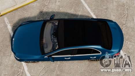 Mercedes-Benz C-Class (W205) AMG 2014 para GTA 4 visión correcta