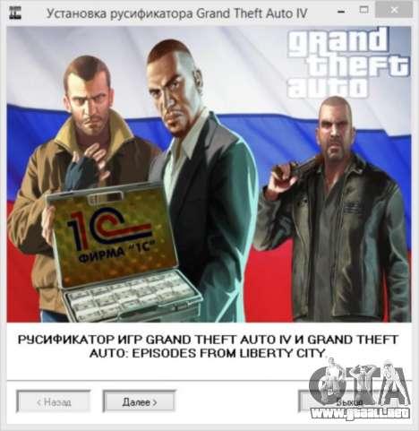 Crack para GTA 4 de Vapor para GTA 4