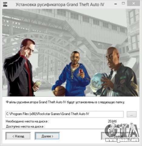 Crack para GTA 4 de Vapor para GTA 4 adelante de pantalla