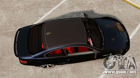BMW M3 E92 AC Schnitzer ACS3-Sport v2.0 para GTA 4 visión correcta