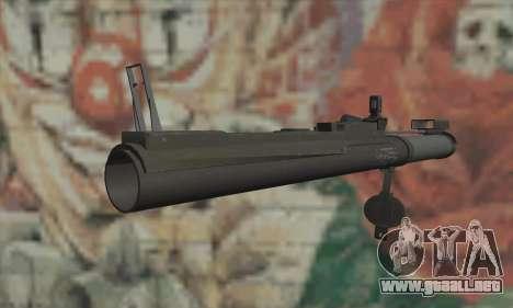 M72 LAW para GTA San Andreas segunda pantalla