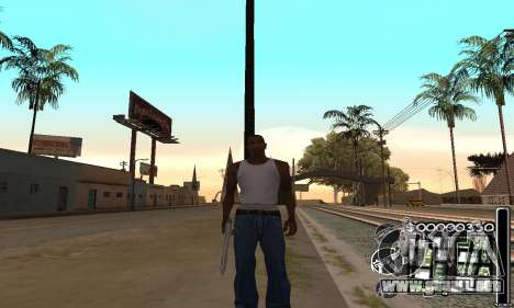 C-HuD Black White para GTA San Andreas