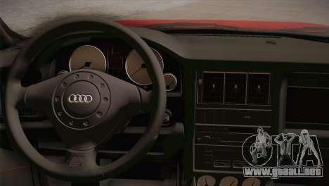 Audi 80 B4 RS2 para GTA San Andreas vista hacia atrás