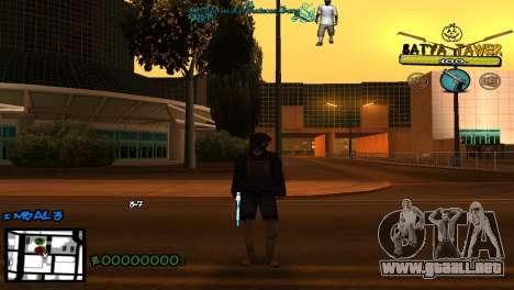 C-Hud by Baton Batya para GTA San Andreas segunda pantalla