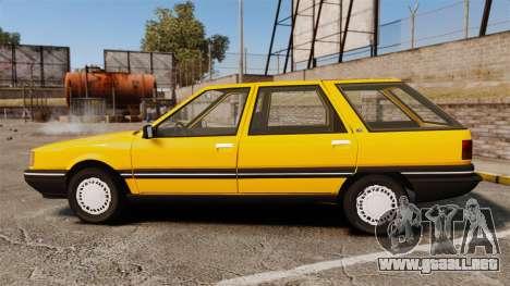 Renault 21 Nevada GTD para GTA 4 left