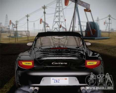 Porsche 911 Carrera para GTA San Andreas interior