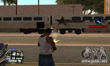 C-HUD (LSPD) para GTA San Andreas segunda pantalla