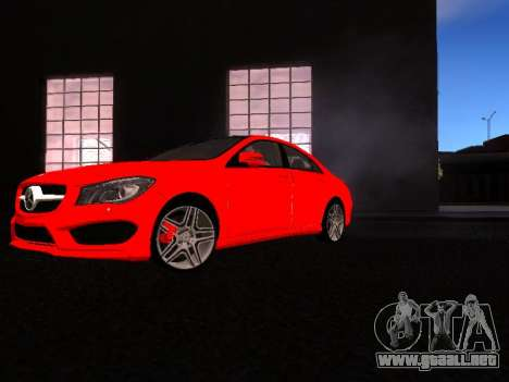 Mercedes-Benz CLA 250 para GTA San Andreas left