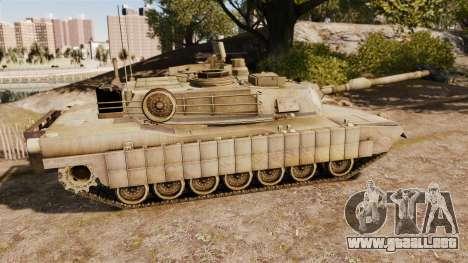 M1A2 Abrams para GTA 4 left