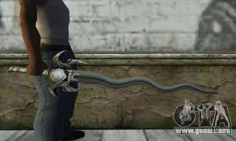 Soul Reaver Sword para GTA San Andreas tercera pantalla