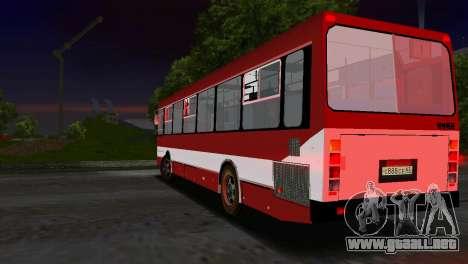 LIAZ-5256 para GTA Vice City vista interior