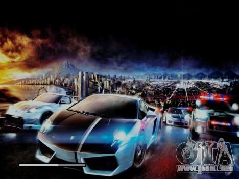 Loading Screens NFS para GTA San Andreas quinta pantalla