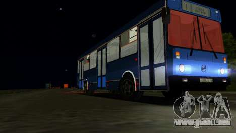 LIAZ-5256 para GTA Vice City vista lateral