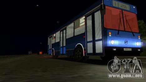 LIAZ-5256 para GTA Vice City vista lateral