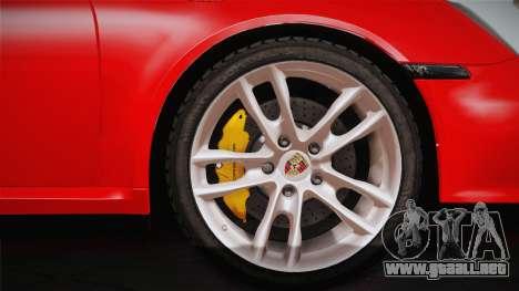 Porsche 911 Carrera para la visión correcta GTA San Andreas