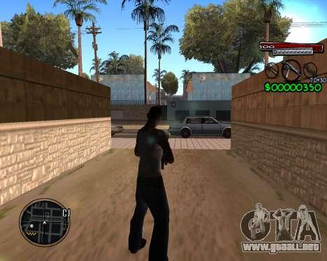C-HUD by Santoro para GTA San Andreas segunda pantalla