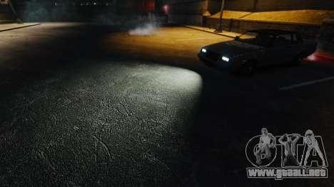 Muy blanca luz para GTA 4