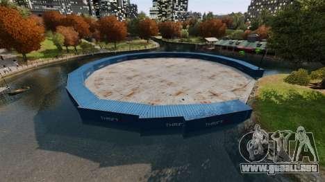 Open arena para vehículos de combate v2.0 para GTA 4