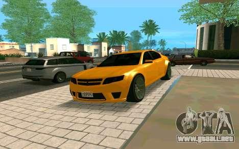 GTA V Fugitive Version 2 FIXED para la visión correcta GTA San Andreas