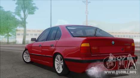 BMW 525i para GTA San Andreas left