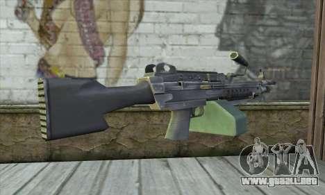 M16 из Postal 3 para GTA San Andreas segunda pantalla