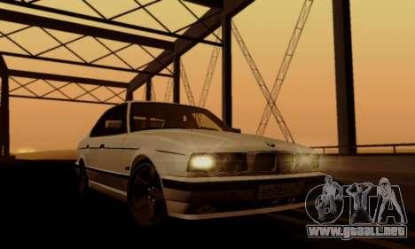 BMW 525 Re-Styling para la vista superior GTA San Andreas