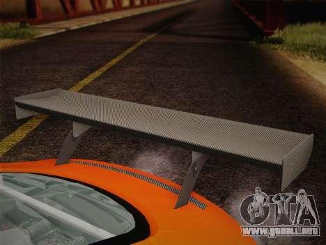 Audi R8 LMS v2.0.4 DR para la vista superior GTA San Andreas