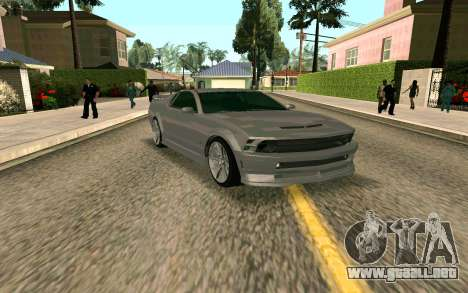 GTA V Vapid Dominator para GTA San Andreas left