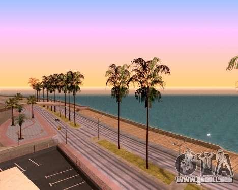 ENB para PC débil para GTA San Andreas sucesivamente de pantalla