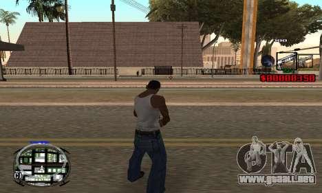 C-HUD (LSPD) para GTA San Andreas tercera pantalla