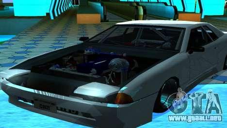 Elegy 280sx v2.0 para GTA San Andreas vista posterior izquierda