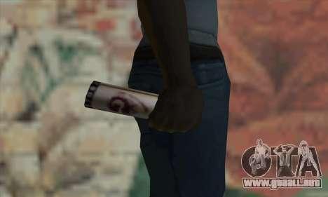 Montana Gold Spray para GTA San Andreas tercera pantalla