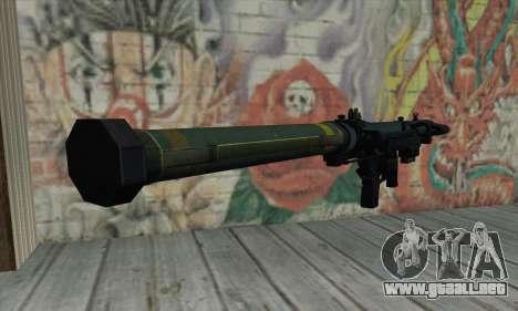 SMAW de BF3 para GTA San Andreas segunda pantalla