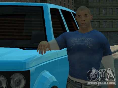 Vin Diesel Wheelman para GTA 4 tercera pantalla