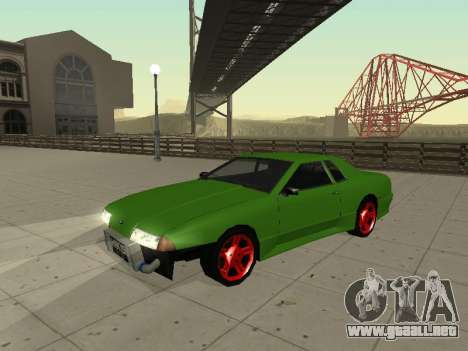 Elegy by X3noNon para GTA San Andreas left