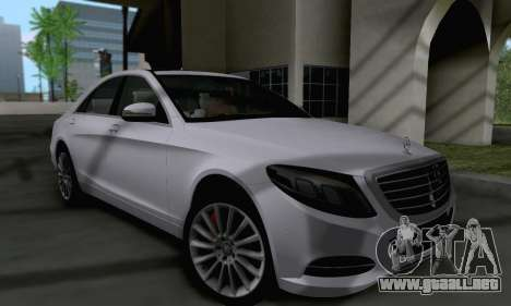 Mercedes-Benz W222 para GTA San Andreas left
