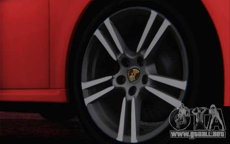 Porsche 911 Turbo para la vista superior GTA San Andreas