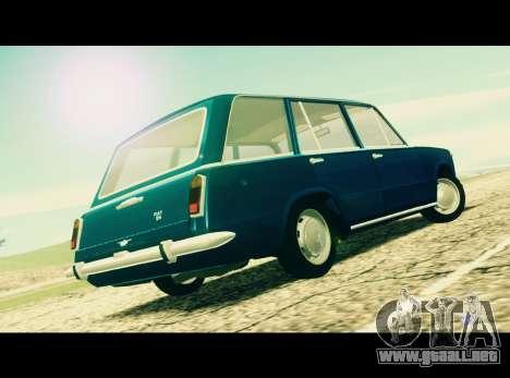 Fiat 124 Familiare para GTA San Andreas left