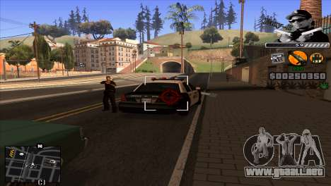 C-Hud Eazy-E para GTA San Andreas tercera pantalla