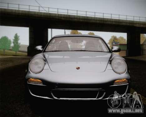 Porsche 911 Carrera para vista inferior GTA San Andreas