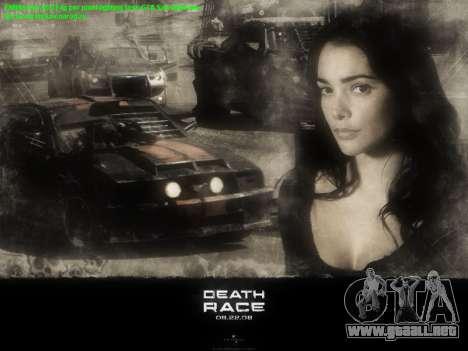 Inicio de las pantallas de la Carrera de la Muer para GTA San Andreas tercera pantalla